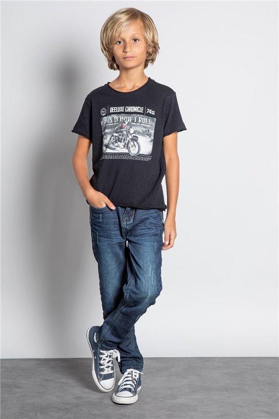 T-shirt T-SHIRT BREAKER Boy W20119B (58090) - DEELUXE-SHOP