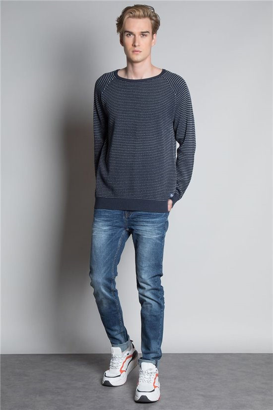 Sweater PULL DRUM Man W20318M (58154) - DEELUXE-SHOP