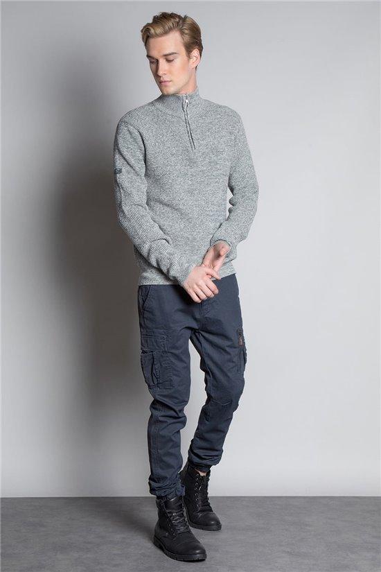 Sweater HENLEY Man W20302M (58174) - DEELUXE-SHOP