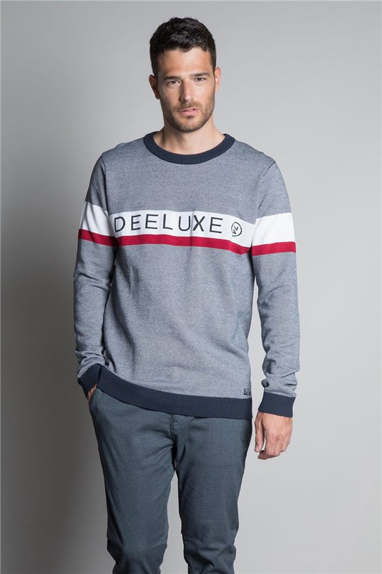 Sweater PULL STERLING Man W20309M (58184) - DEELUXE-SHOP