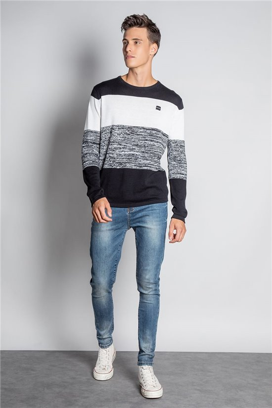 Sweater PULL TOKACHI Man W20331M (58189) - DEELUXE-SHOP