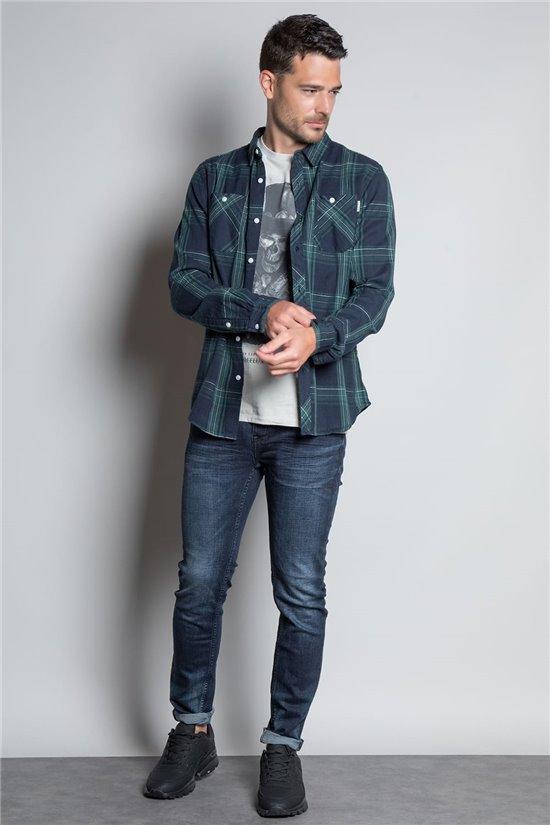Shirt SHIRT HARRISON Man W20404M (58199) - DEELUXE-SHOP