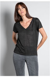 T-shirt T-SHIRT ETHANY Woman W20109W (58213) - DEELUXE-SHOP