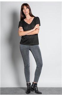 T-shirt T-SHIRT ETHANY Woman W20109W (58214) - DEELUXE-SHOP