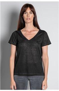 T-shirt T-SHIRT ETHANY Woman W20109W (58215) - DEELUXE-SHOP