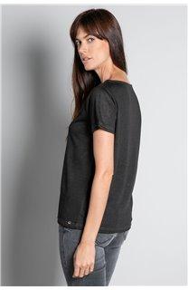 T-shirt T-SHIRT ETHANY Woman W20109W (58216) - DEELUXE-SHOP
