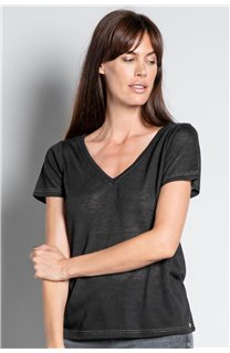 T-shirt T-SHIRT ETHANY Woman W20109W (58217) - DEELUXE-SHOP