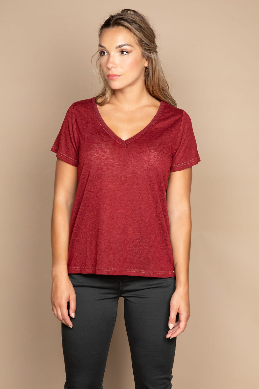 T-shirt T-SHIRT ETHANY Woman W20109W (58218) - DEELUXE-SHOP