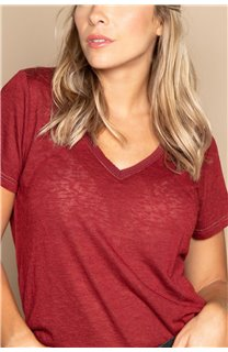 T-shirt T-SHIRT ETHANY Woman W20109W (58222) - DEELUXE-SHOP