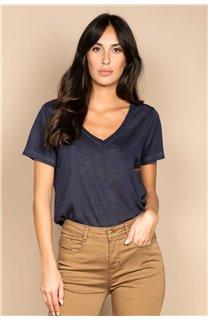 T-shirt T-SHIRT ETHANY Woman W20109W (58223) - DEELUXE-SHOP