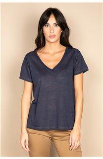 T-shirt T-SHIRT ETHANY Woman W20109W (58225) - DEELUXE-SHOP