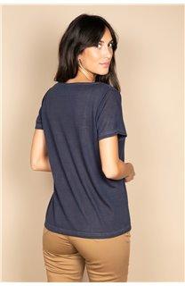 T-shirt T-SHIRT ETHANY Woman W20109W (58226) - DEELUXE-SHOP