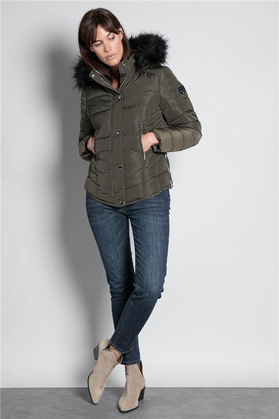 Puffy Jacket JACKET LEONA Woman W20662W (58278) - DEELUXE-SHOP