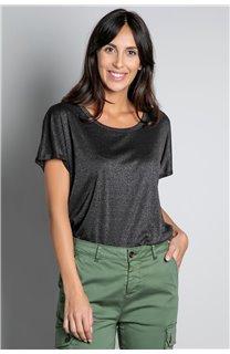 T-shirt T-SHIRT DHINES Woman W20103W (58288) - DEELUXE-SHOP