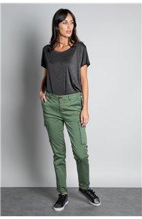 T-shirt T-SHIRT DHINES Woman W20103W (58289) - DEELUXE-SHOP
