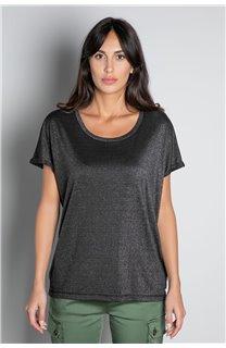 T-shirt T-SHIRT DHINES Woman W20103W (58290) - DEELUXE-SHOP