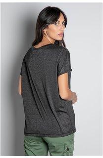 T-shirt T-SHIRT DHINES Woman W20103W (58291) - DEELUXE-SHOP