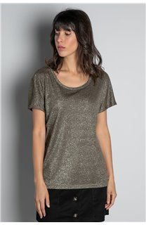T-shirt T-SHIRT DHINES Woman W20103W (58295) - DEELUXE-SHOP