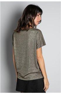 T-shirt T-SHIRT DHINES Woman W20103W (58296) - DEELUXE-SHOP