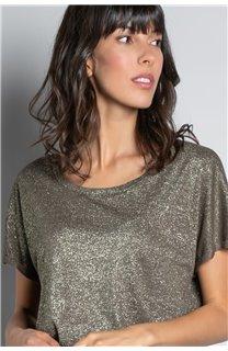 T-shirt T-SHIRT DHINES Woman W20103W (58297) - DEELUXE-SHOP