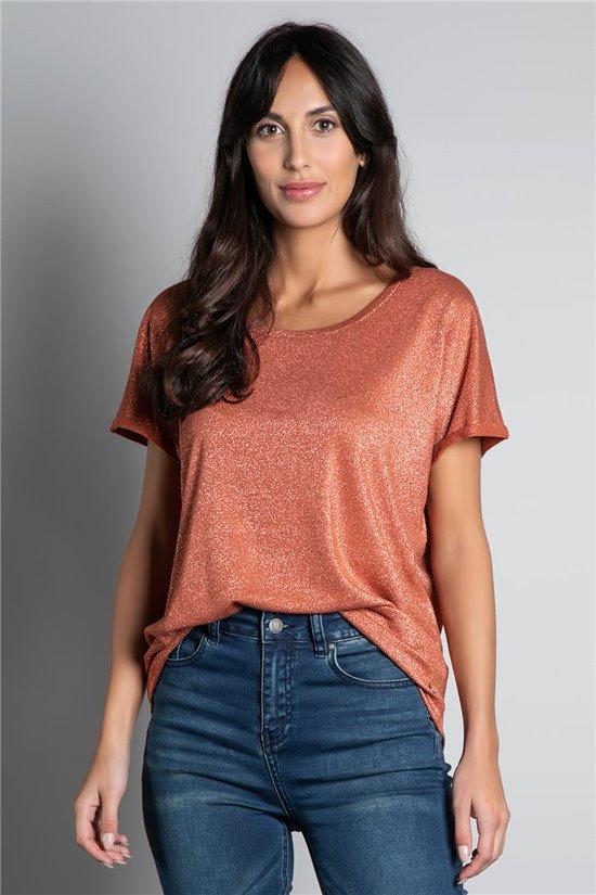 T-shirt T-SHIRT DHINES Woman W20103W (58303) - DEELUXE-SHOP