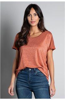 T-shirt T-SHIRT DHINES Woman W20103W (58298) - DEELUXE-SHOP