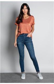 T-shirt T-SHIRT DHINES Woman W20103W (58299) - DEELUXE-SHOP
