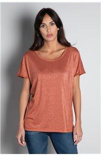 T-shirt T-SHIRT DHINES Woman W20103W (58300) - DEELUXE-SHOP