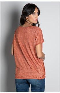 T-shirt T-SHIRT DHINES Woman W20103W (58301) - DEELUXE-SHOP