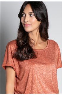 T-shirt T-SHIRT DHINES Woman W20103W (58302) - DEELUXE-SHOP