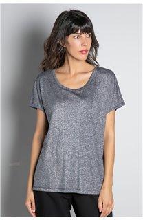 T-shirt T-SHIRT DHINES Woman W20103W (58305) - DEELUXE-SHOP