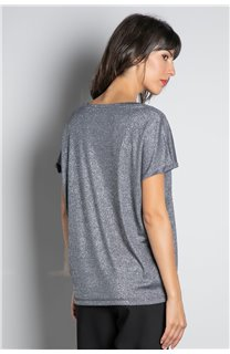 T-shirt T-SHIRT DHINES Woman W20103W (58306) - DEELUXE-SHOP