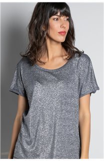 T-shirt T-SHIRT DHINES Woman W20103W (58307) - DEELUXE-SHOP