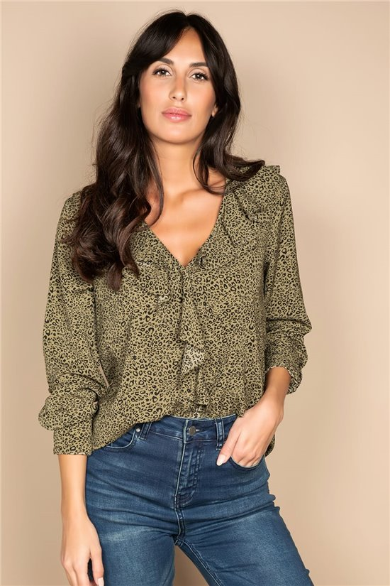 Blouse BLOUSE KAYLA Woman W20411W (58333) - DEELUXE-SHOP