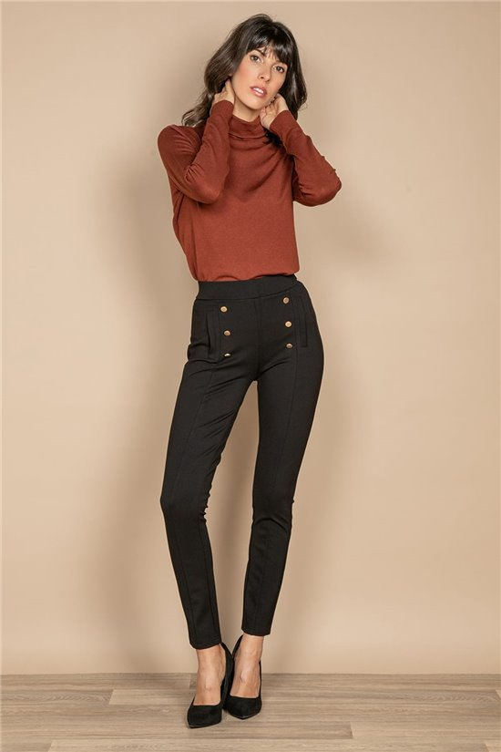 Pant LEGGINGS LILOU Woman W20722W (58358) - DEELUXE-SHOP