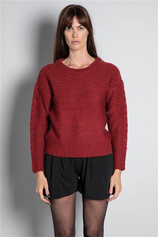 Sweater JUMPER ANGELLE Woman W20321W (58448) - DEELUXE-SHOP
