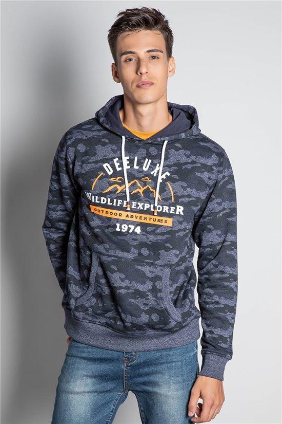 Sweatshirt ZIPPED HOODIE DAIKOSON Man W20524M (58520) - DEELUXE-SHOP