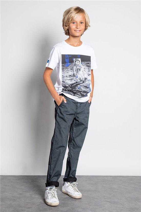 Pant CHINOS MILANO Boy W207008B (58595) - DEELUXE-SHOP