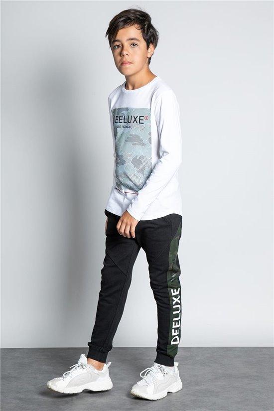 Pant JOGGERS SAMOURAI Boy W207101B (58600) - DEELUXE-SHOP