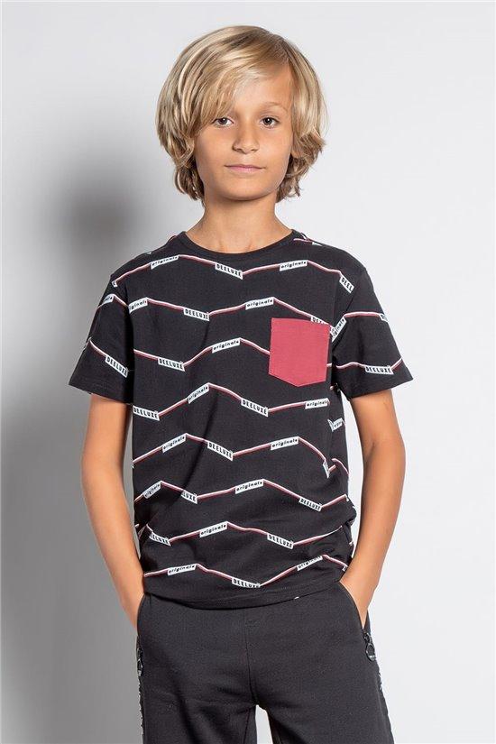 T-shirt T-SHIRT KEEPER Boy W20171B (58649) - DEELUXE-SHOP