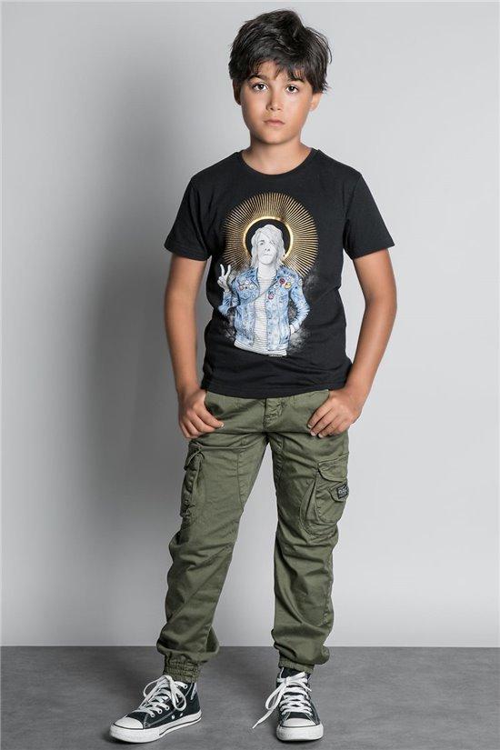 T-shirt T-SHIRT NEVERMIND Boy W20183B (58673) - DEELUXE-SHOP