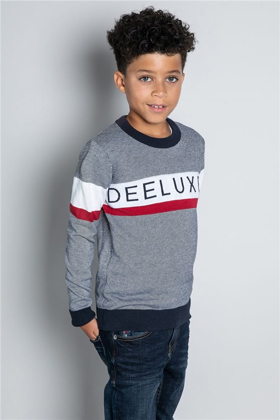 Sweater JUMPER STERLING Boy W20309B (58703) - DEELUXE-SHOP