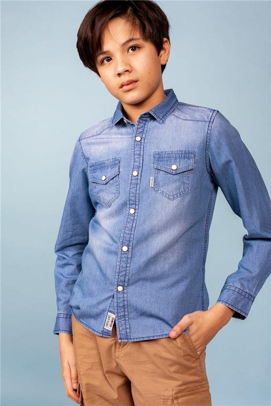 Shirt Shirt CAMBRIA Boy S21432B (60745) - DEELUXE-SHOP
