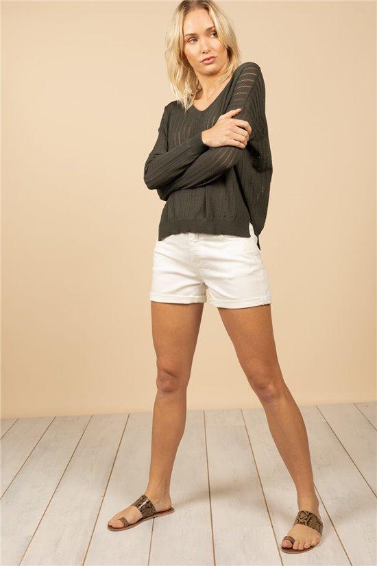 Sweater Sweater LISA Woman S21304W (61110) - DEELUXE-SHOP