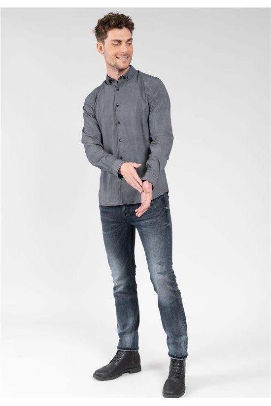 Shirt Shirt CLARITY Man 01V411M (64479) - DEELUXE-SHOP