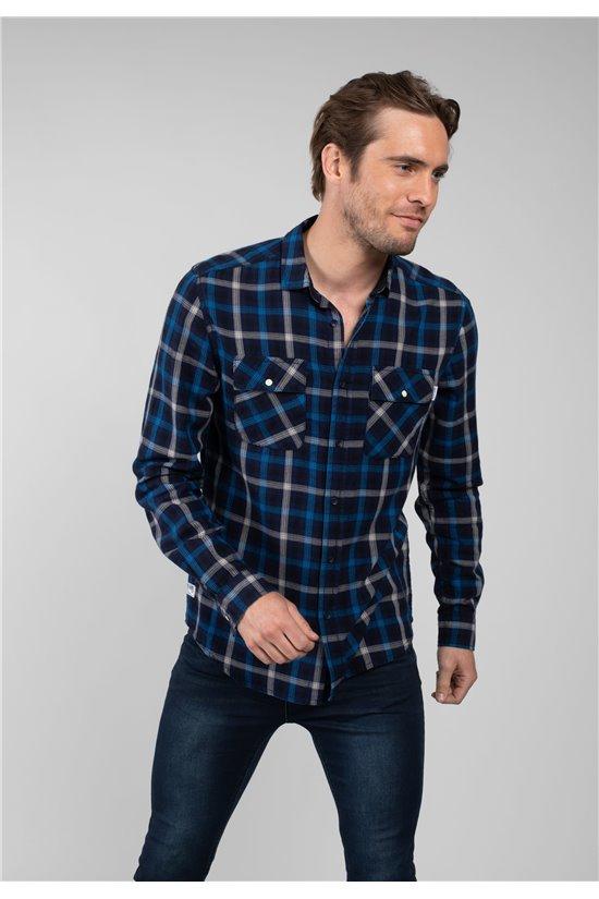 Shirt Shirt SENAL Man 01V484M (64493) - DEELUXE-SHOP