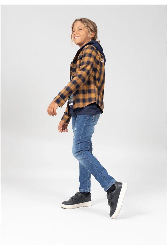 Shirt Shirt PIETERON Boy 01V480B (67496) - DEELUXE-SHOP